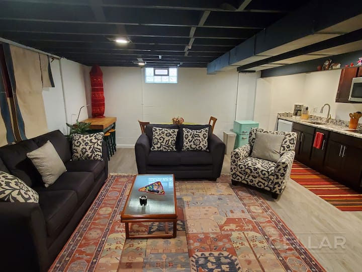 The Cellar - Fully Renovated Unit in Clintonville