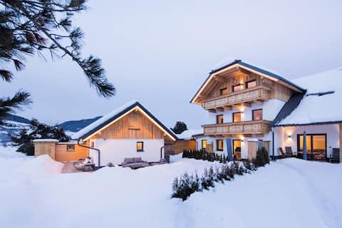 Alpine skibakker - Appartement Obertauern