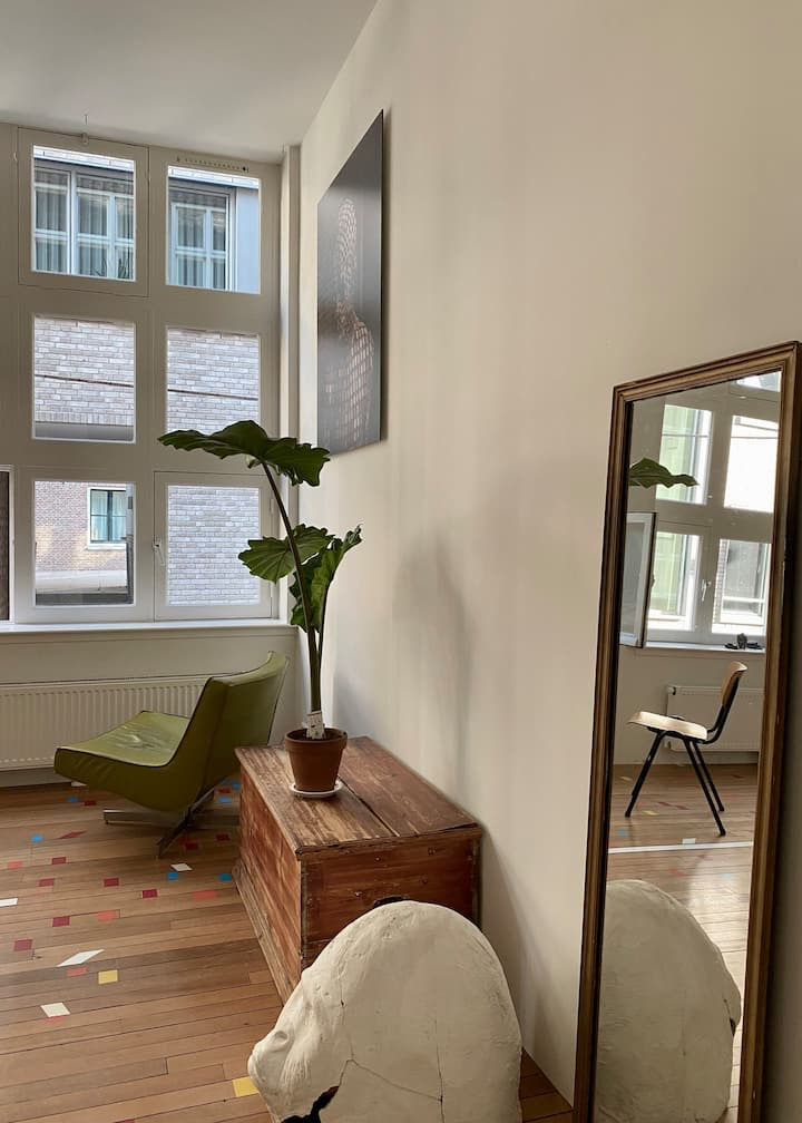 Private room in artists residency centre Amsterdam
