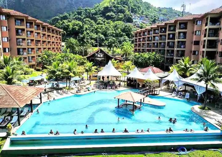 Resort Porto Bali - Angra dos Reis - Vista piscina