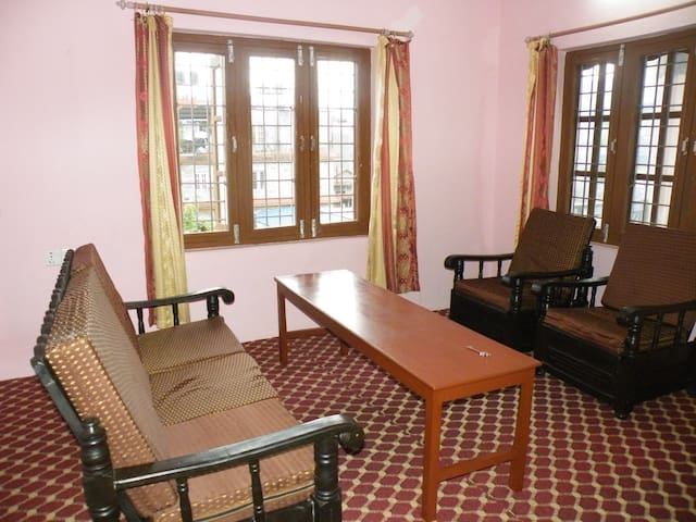 Two bedroom apartment with double balcony