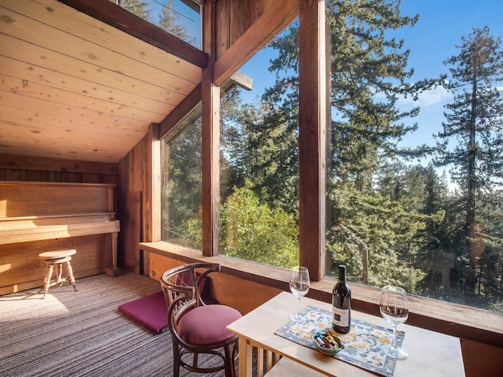 Enchanted Forest Retreat Stunning View WiFi 45Acre