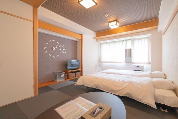 Feel like Ocean in Forest! modern tatami room【909】