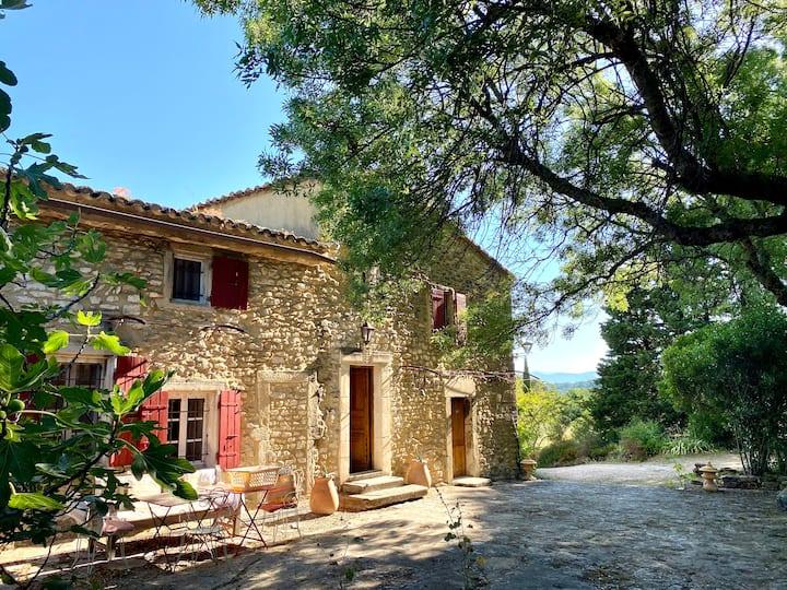 Manoir provençal historique