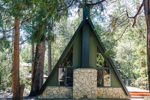 The Far Out -  A Frame cabin in the woods