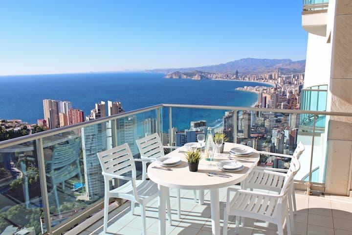 Holiday Premium resort with sea views - floor 36