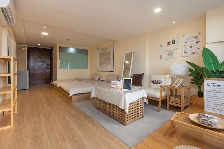 1.2×2米双床双床可拼在一起,可分开