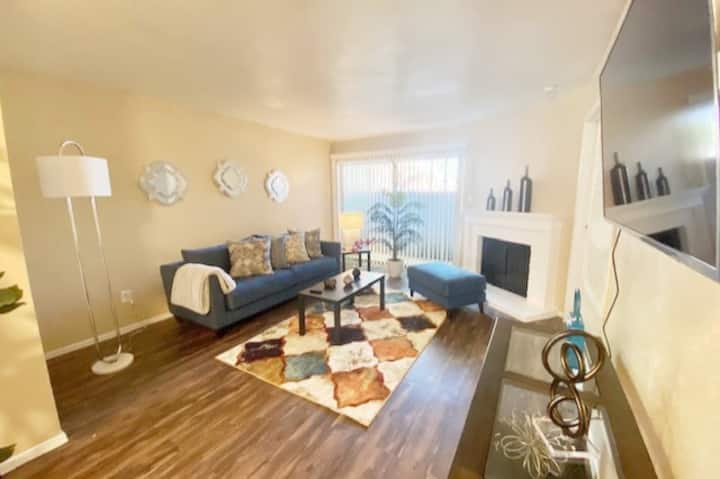Hidden Gem- Private 2bed   2bath  WORK PLAY STAY 
