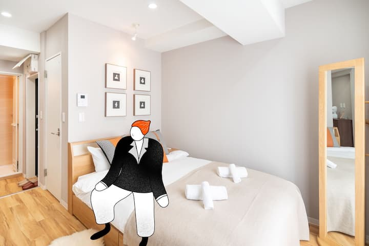 New-design cozy room near Asakusa/Skytree 502