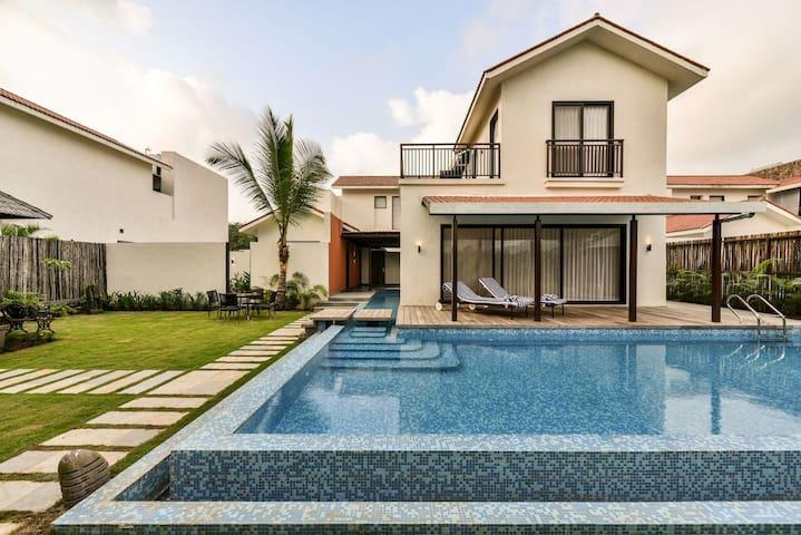 ★Sanitised Luxury Villa | 4 Bedroom | Pool+Terrace