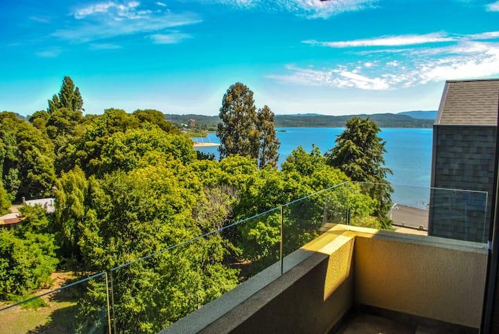 Hermoso con vista al Lago Villarrica