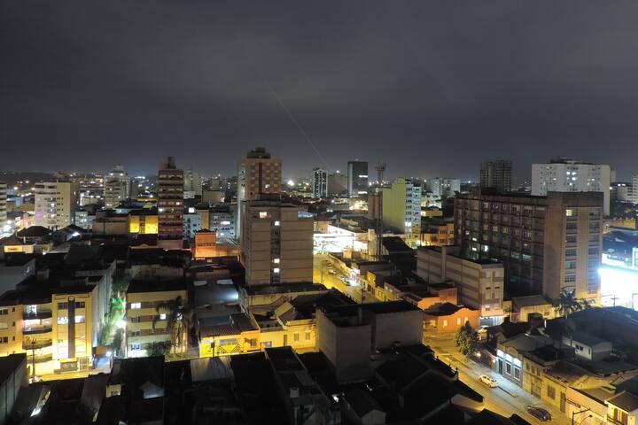 Apartamento com vista panorâmica no centro