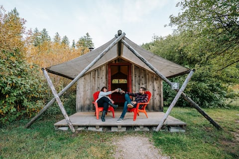 MCR: Go Glamping! Luxury Camping in the Tetons