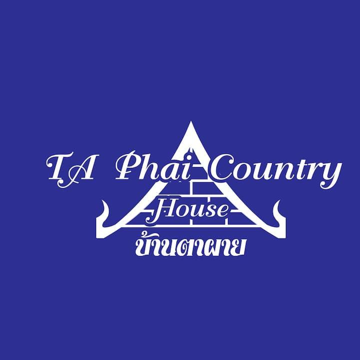 Baan Ta Phai Country house Airbnb