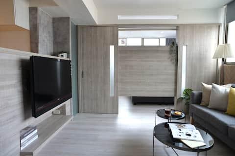 ☀Sunlight Room w Kitchen & Netflix| MRT 6min|NJ7