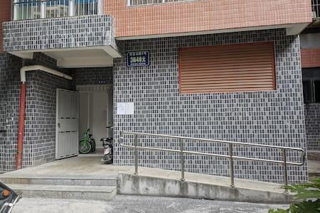一楼大门过道不低于0.91米,障碍病人能轻松进出