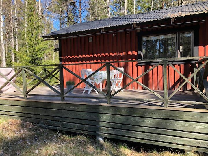 Skogvaktarstuga, Stridsby Gård