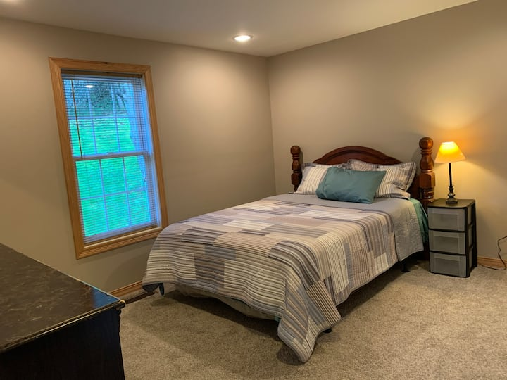 Private Queen Bedroom in Charming  Farmhouse