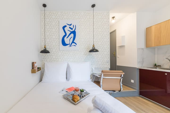 Tour Eiffel - Saint-Charles 11: cosy flat for 2