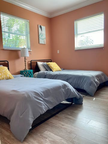 guest bedroom 2 with single beds