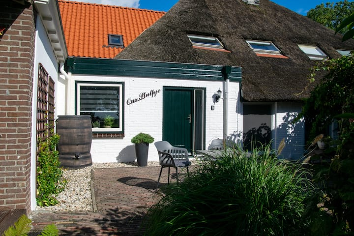 Beautiful home with swimmingpool near Giethoorn