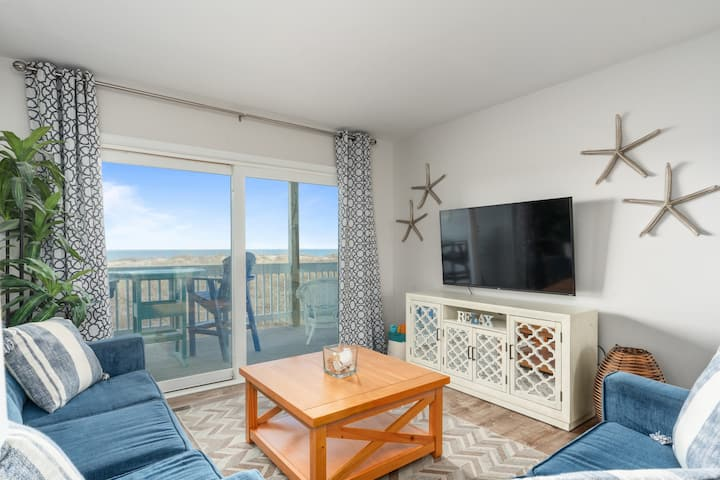 Oceanfront Condo *Good Tides* Close to Boardwalk