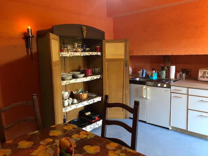 Cityroom: Geniesse alleine/zusammen- mit Küche