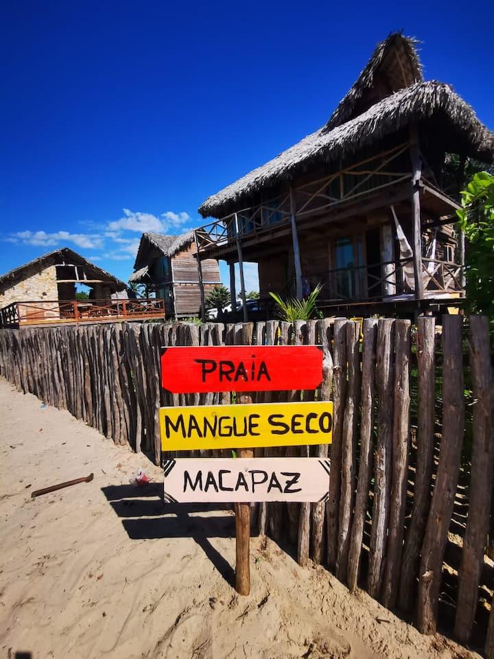 MKP House - Praia de Macapá Bangalô 04
