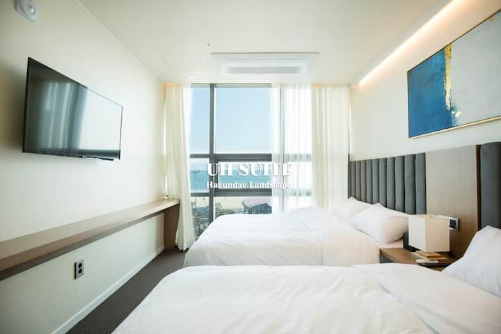 [UH Suite APT]#2R1B(#3)#1 Sec  Haeundae#urbanhost