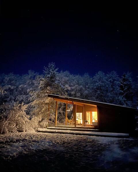 Шале-студия в лесу.  Финляндия в Подмосковье!
