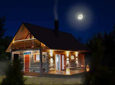 Privat sauna house near by  Kakerdaja bog