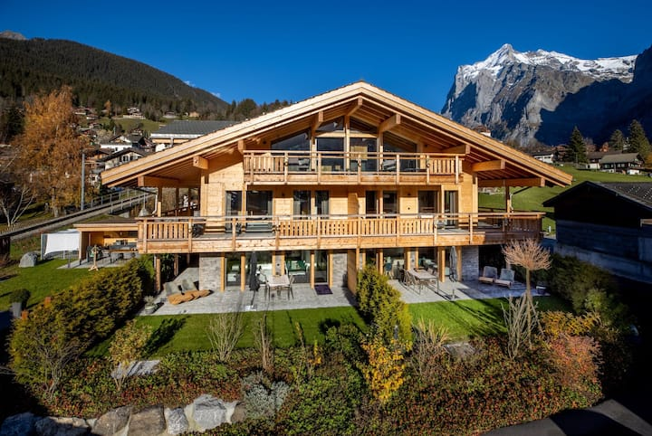 Chalet CARVE, Jungfrau - voted best choice in GW