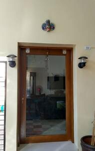 Main Door entrance is 90 cm wide