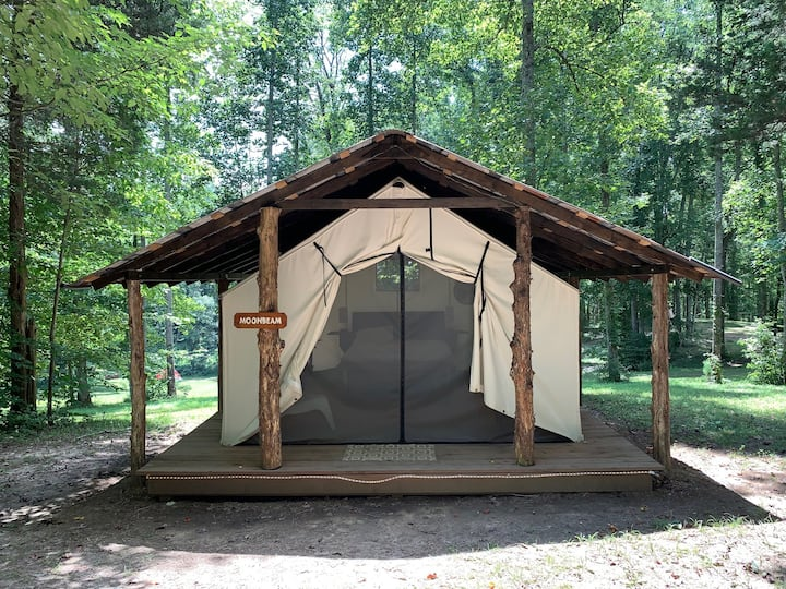 Enchanting Glamping Tent on Lake Cumberland