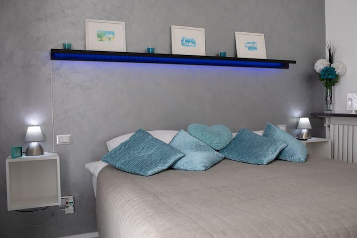Main bedroom, beautifully light and airy with a large double bed