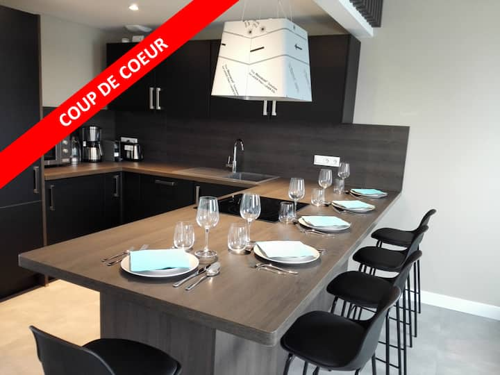 ★★★ Duplex contemporain traversant proche SPA ★★★