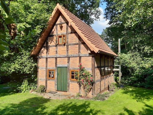 Kleines Backhaus auf dem Lande
