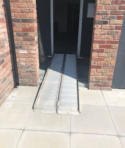 Have a ramp that can allow wheelchair access just needs lifting in
