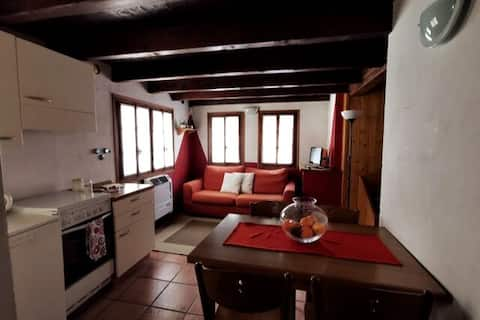 Apartment with garden in the heart of Macugnaga