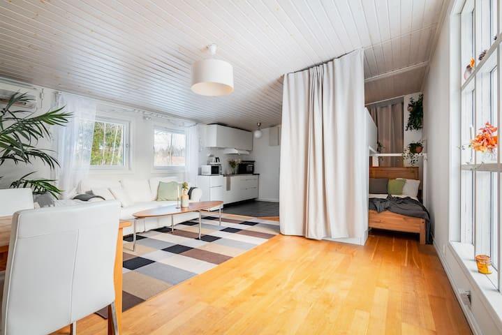 Livingroom/ Kitchen/ Bunkbed