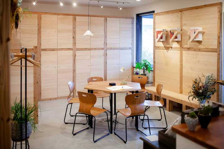 伊勢 FOLK FOLK Hostel, Cafe & Bar 男女混合ドミトリー