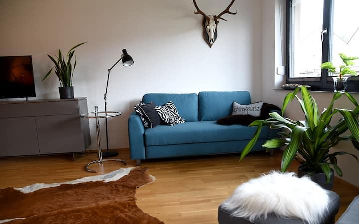 Stylische Wohnung mit viel Raum zum Wohlfühlen