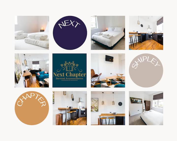 ☎ 1 BED APT AT SHIPLEY , FREE WiFi & PARKING ☎