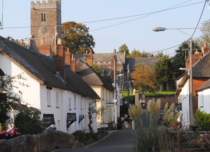 Sunny rooms in pretty village close to Devon coast