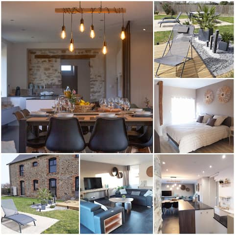 Belle Maison Grand Confort  4 chambres & Terrasses