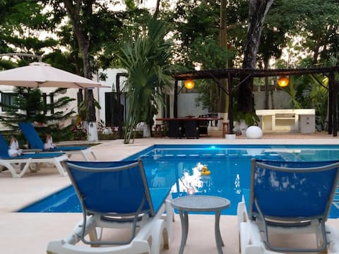 Villa Nicte-Ha ❁Muyil❁Tulum❁/Quiet Private Retreat