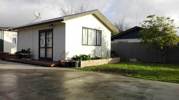 Close to city centre but private.