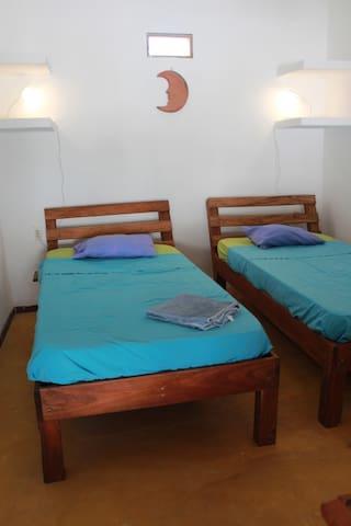 """bedroom """"luna"""" upstairs"""