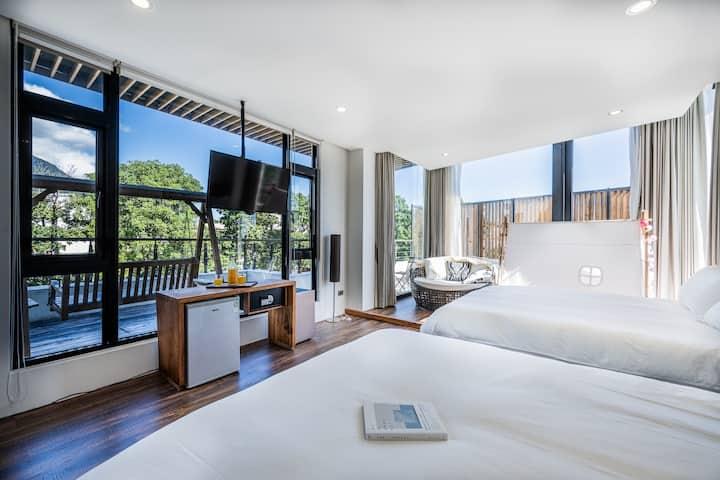樂·隨逸館 La suite 豪華四人房201(提供包棟及加床服務)