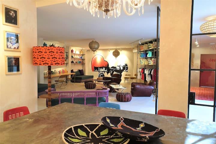 Miostello | Sleeping Box Women | Medina |Marrakech